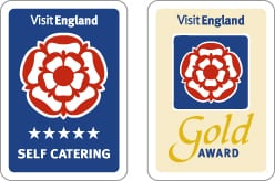 Visit England Five Star Gold Self Catering Accommodation