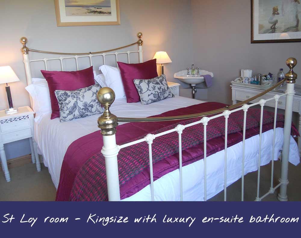 St Loy Bed & Breakfast Room - Sleeps 2