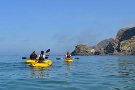 Kayaking in Cornwall